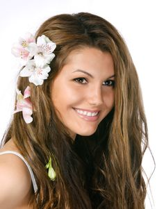 Free Attractive Smiling Girl Royalty Free Stock Image - 16190176