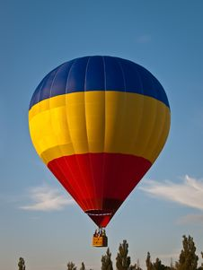 Free Flying On A Balloon Stock Photography - 16190242