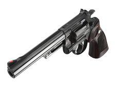 Free Smith Wesson 44 Black Royalty Free Stock Photos - 16190308