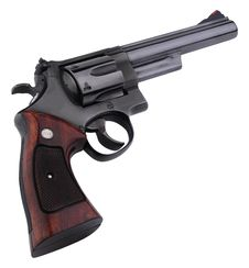 Free Smith Wesson 44 Black Stock Photography - 16190322
