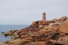 Free Ploumanac H Lighthouse Stock Image - 16191171