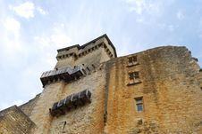 Castelnaud Castle Stock Images