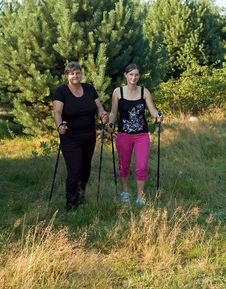 Free Nordic Walking Stock Photography - 16191902