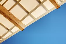 Modern Roof Stock Images