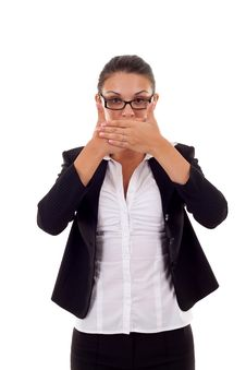 Free Speak No Evil Stock Photo - 16192970