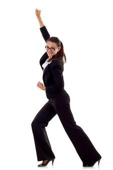 Free Joyous Business Woman Stock Photography - 16192982