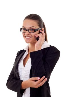 Free Business Woman On Phone Royalty Free Stock Image - 16192996