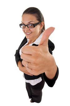 Free Woman Making Ok Sign Stock Photo - 16193260