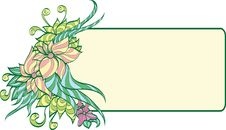 Free Floral Frame. Stock Photography - 16193272