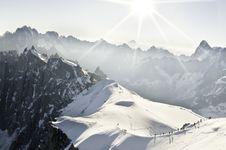 Free Aiguille Du Midi Stock Images - 16193634