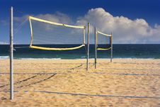 Free Volleyball Net Stock Images - 16193664