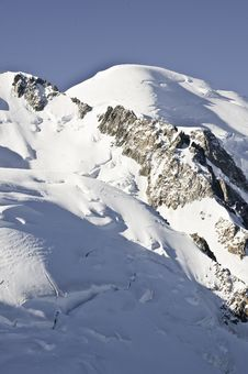 Views Of Mont-Blanc Stock Photo