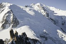 Free Views Of Mont-Blanc Stock Photography - 16193922