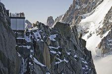 Views Of Mont-Blanc Royalty Free Stock Image