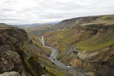 Free Fossa Ravine, Iceland. Stock Photo - 16194050