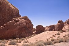 Free Valley Of Fire Royalty Free Stock Images - 16195789