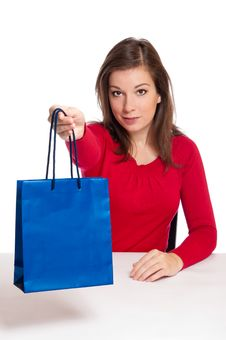 Women Giving Gift Royalty Free Stock Photography