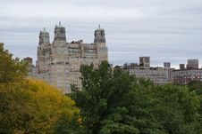 Free Central Park NY Apartments Royalty Free Stock Photos - 16196148