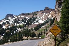 Free Peaks In Lassen Park Royalty Free Stock Photography - 16196207