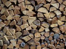 Free Woodpile Royalty Free Stock Image - 16196556