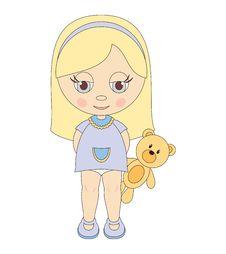 Free Little Girl Royalty Free Stock Photos - 16196578