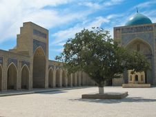 Free Madrasah In Bukhara Stock Image - 16196721