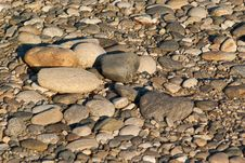 Free Large And Small River Stones Stock Photography - 16196932