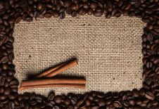 Free Coffee And Cinnamon Stock Photography - 16197492