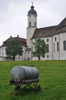 Free Wieskirche In Bavaria Royalty Free Stock Photos - 16197698