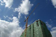 Free Building Crane Stock Image - 16198201