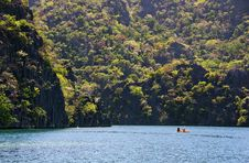 Free Kayaking In Coron Stock Images - 16198564