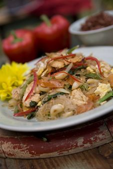 Free Thai Food Dishes Royalty Free Stock Photo - 16199495
