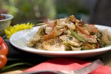 Free Thai Food Dishes Royalty Free Stock Photos - 16199498