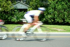 Free Blurred Motion Bicycle Race Royalty Free Stock Photography - 16199607