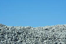 Free Granite Stone Pile With Blue Sky Stock Images - 16199614