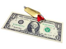 Free One Dollar Stock Photography - 16199882