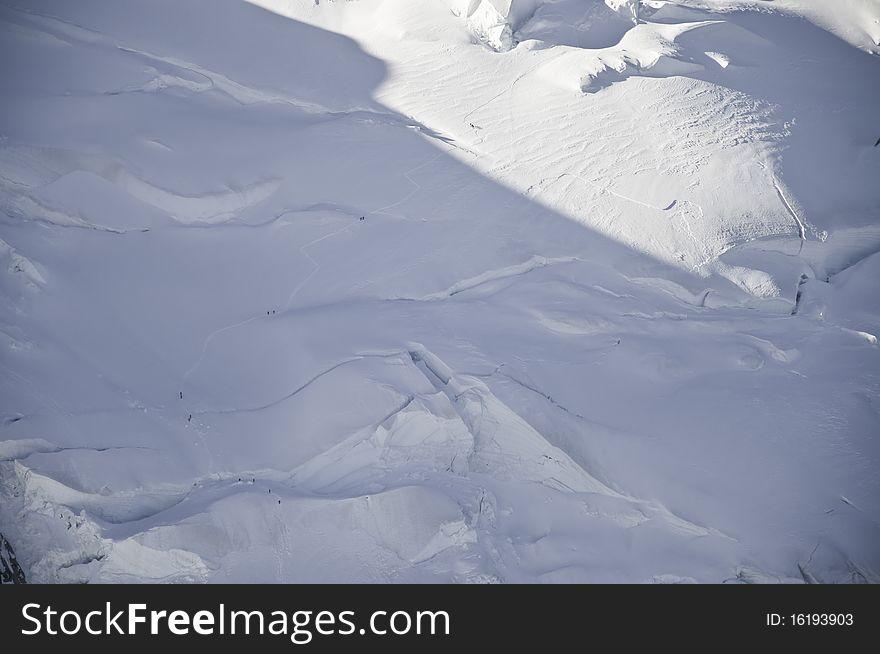 Views of Mont-Blanc
