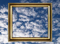 Free Frame And Cloudy Sky Stock Photography - 1620082