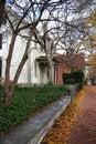 Free Autumn City Street Royalty Free Stock Photos - 1629088