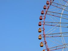 Free Big-wheel Cabins On Blue Sky Stock Photo - 1620310