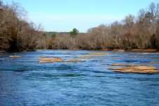 Free Blue River Stock Photography - 1620342