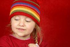 Free Cute Little Girl Stock Image - 1620381