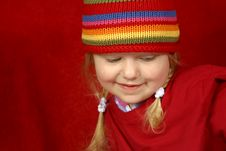 Free Cute Little Girl Royalty Free Stock Photos - 1620478