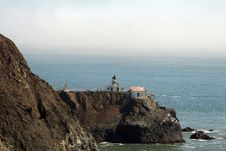 Free Big Sur Lighthouse Royalty Free Stock Images - 1620499