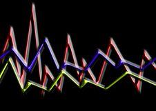 Free Waveform 749 Royalty Free Stock Image - 1621856