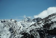 Free High Mountain Cordilleras Royalty Free Stock Images - 1622969