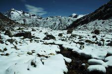 Free Snowcovered Mountain Royalty Free Stock Photo - 1623005