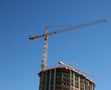 Free Crane On Tower Royalty Free Stock Image - 1624196