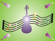Free Music And Violins Stock Photo - 1624340
