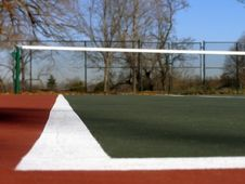 Free Tennis Court Royalty Free Stock Images - 1624389